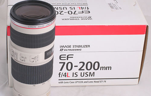 Canon EF 70-200/4 L IS USM