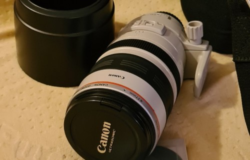 Canon EF 100-400mm f/4.5 - 5.6L IS USM + clona + UV + Brasna