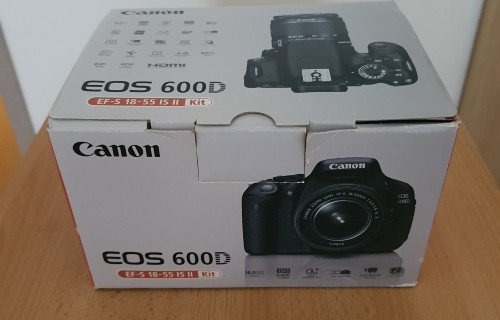 Canon EOS 600D + 18-55 EF-S IS II